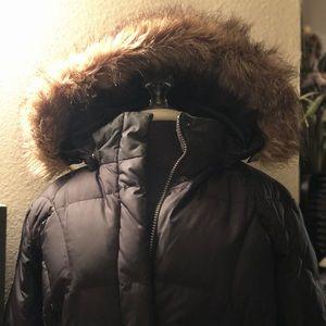 Eddie Bauer Long Down Puffer Jacket 🧥